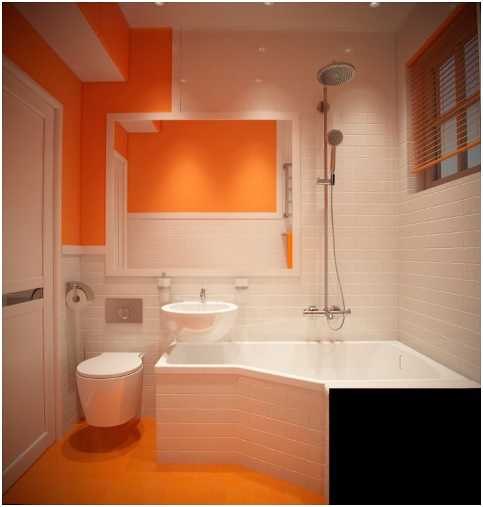 The design is very small bathroom Q2. m.
