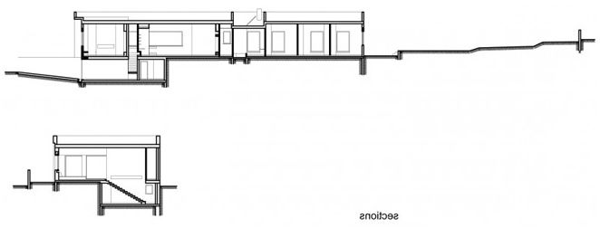 The design of a single-storey house