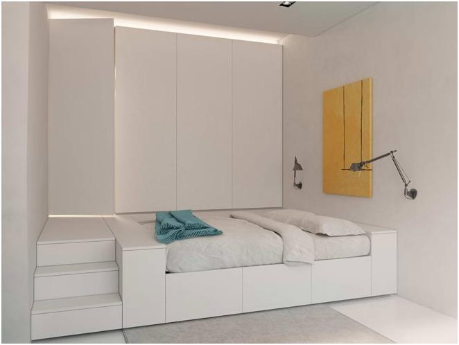 Дизайнът на подиума в апартамента