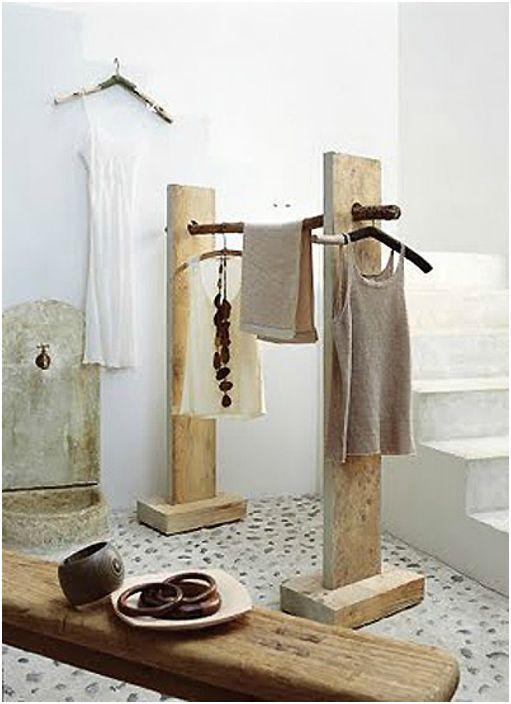 Дизайни, продиктувани от естеството на 17 идеи за използване на пънове, дънери, талпи и клонове в интериора