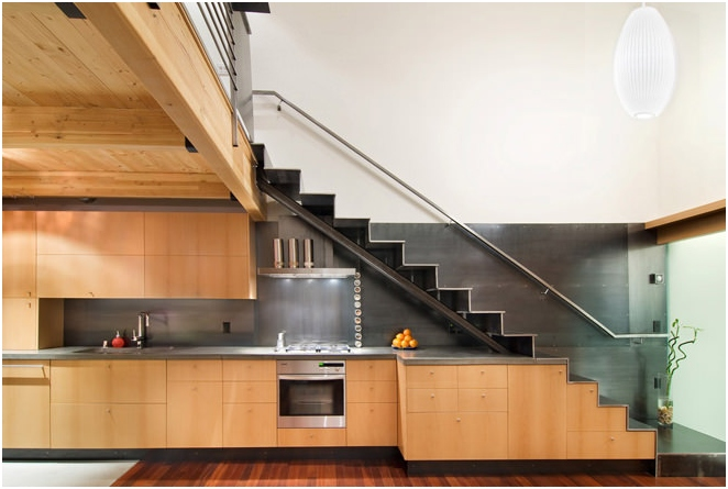 design under the stairs