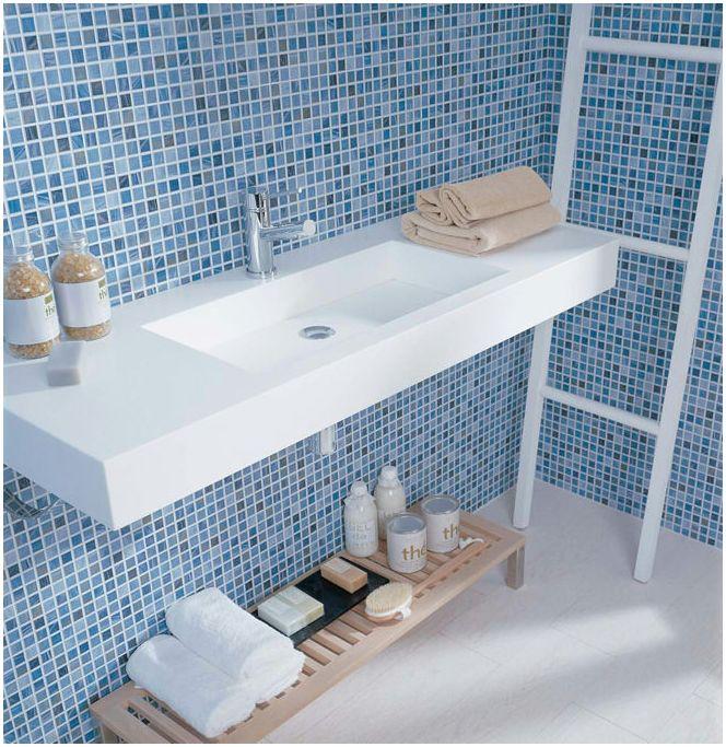 Изготвяне на проект на баня с мозайка