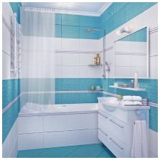 Bathroom design in blue tones-6