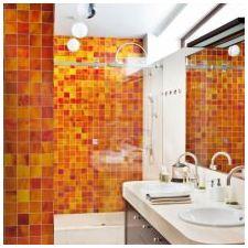 Изготвяне на проект на баня в оранжево