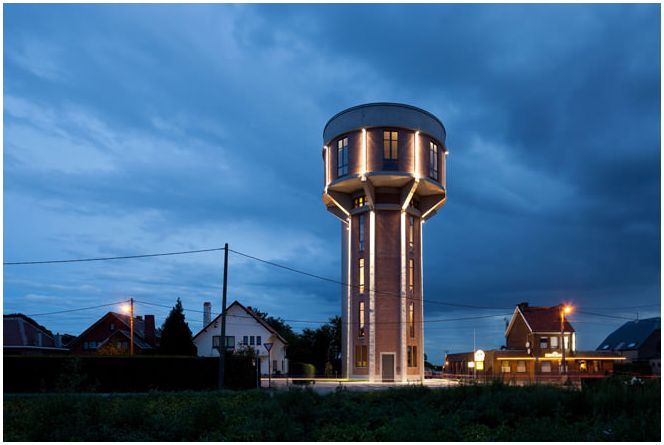 House of the water tower