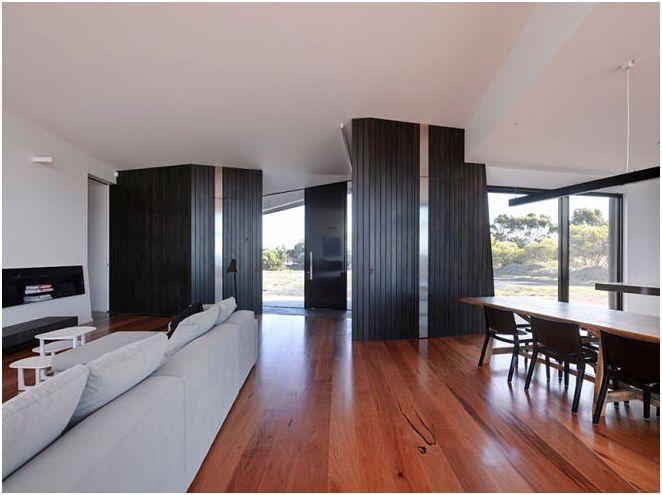 Къщата на необичайна форма в Австралия