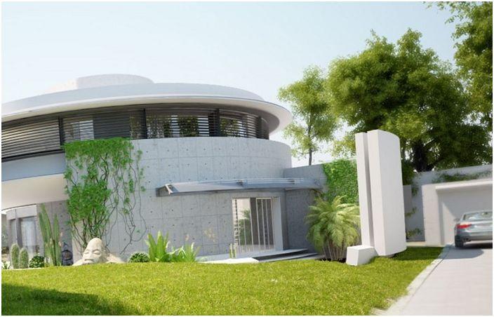"""Snail House: къща концепция с """"зелени"""" технологии"""
