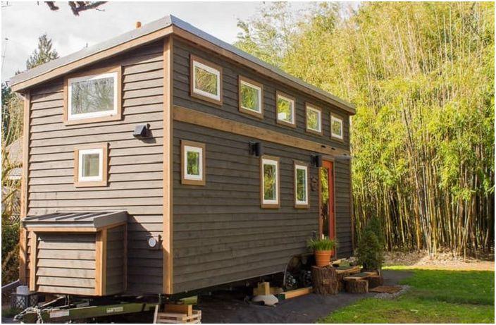 Camper площ от само 17 квадратни метра. м - една чудесна възможност за малък крайградски район