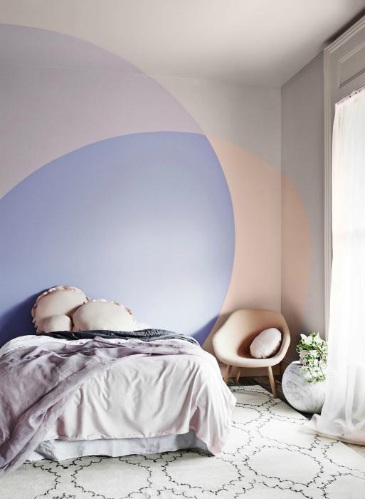 нежност дишане: 20 великолепни интериори в пастелни нюанси