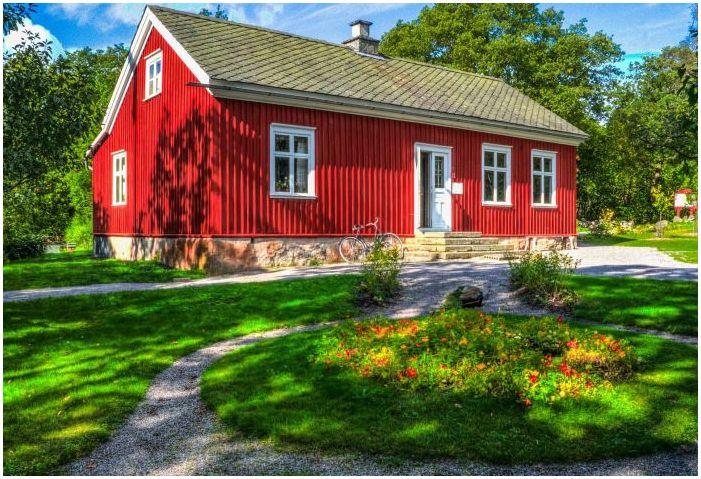 Фасадите на къщите на сайдинг: функции, снимки
