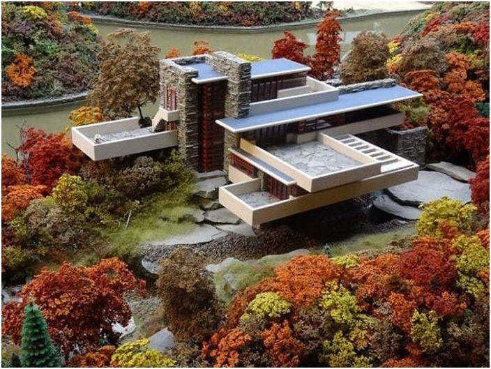 Основното нещо - да се открояват: 6 от оригиналните сгради върху земята и във водата