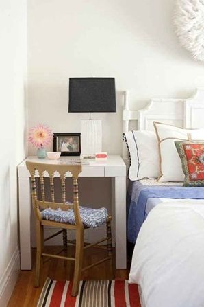 5 ideas for a spring interior small bedroom