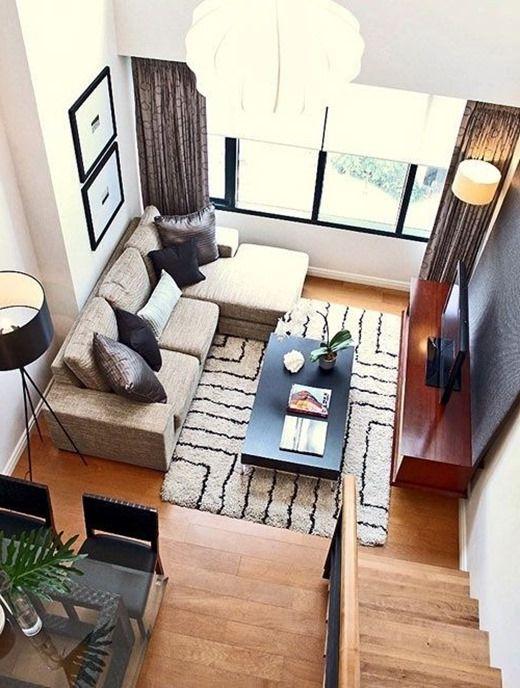 Трикове за малък хол: хол интериорен дизайн в малък апартамент