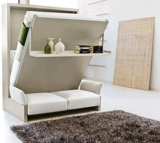 Choose a sofa bed in the small apartment