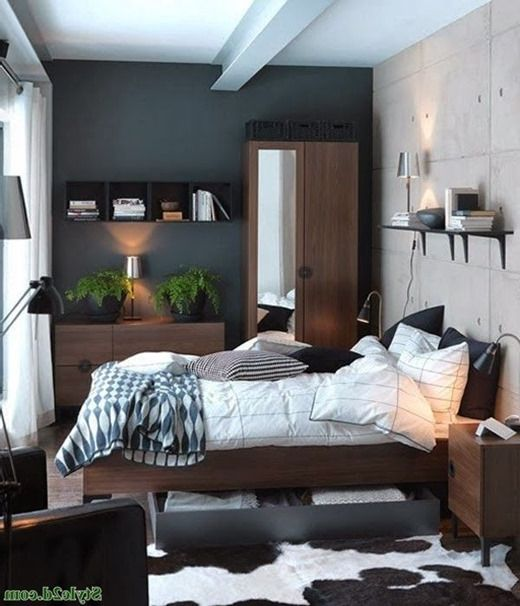 Design of bedrooms in small apartments, interior cramped bedrooms. Little bedroom (photo interiors)