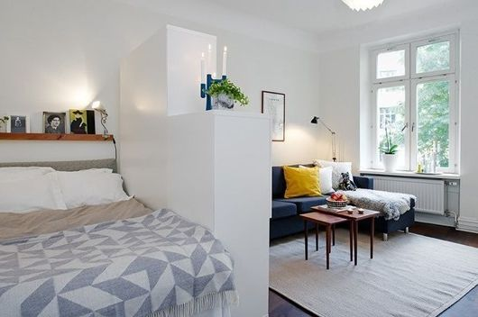 How to plan a space small apartment