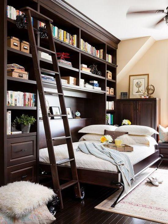 Да живееш в апартамент с една стая: как да се организира спалня в хола