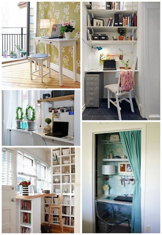 A new approach to the design and arrangement of the home office. Home Photos office