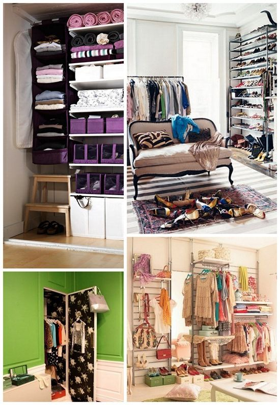 Walk-in closet in the apartment instead of cabinets! photo wardrobe