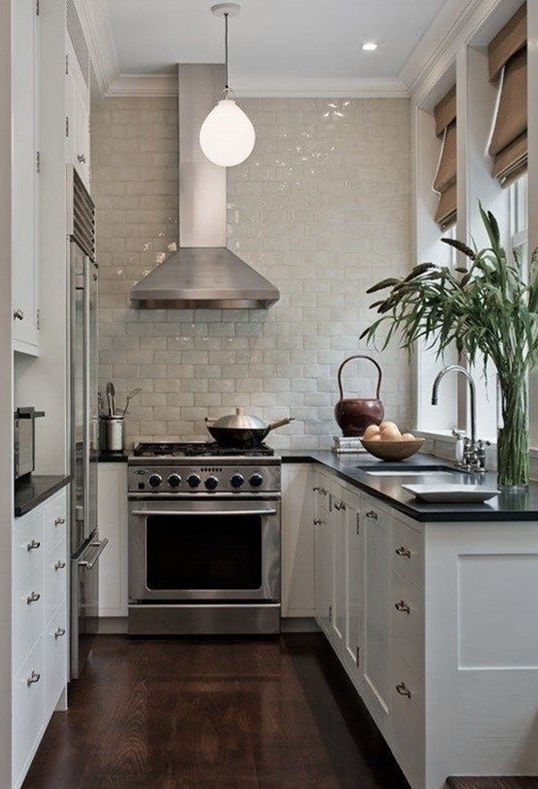 Five ideas for a small-sized kitchen