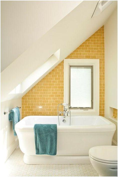 Интериорът на малка баня: 20 великолепни примери за превръщането на пролетта