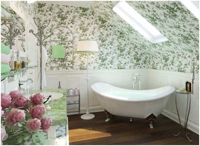 bathroom design in the style of Provence
