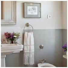 Interior bathroom in the style of Provence: features photo-4
