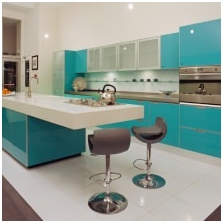 Interiors with turquoise: features photo-5