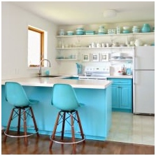 Interiors with turquoise: features photo-6