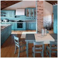 Interiors with turquoise: features photo-8