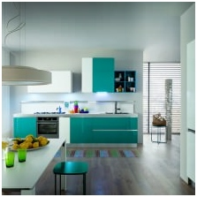 Interiors with turquoise: features photo-9