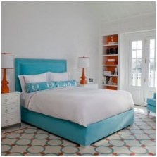 Interiors with turquoise: features photo-10