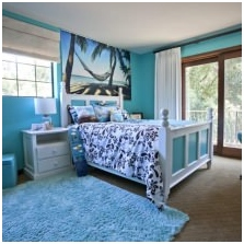 Interiors with turquoise: features photo-12