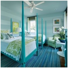 Interiors with turquoise: features photo-13