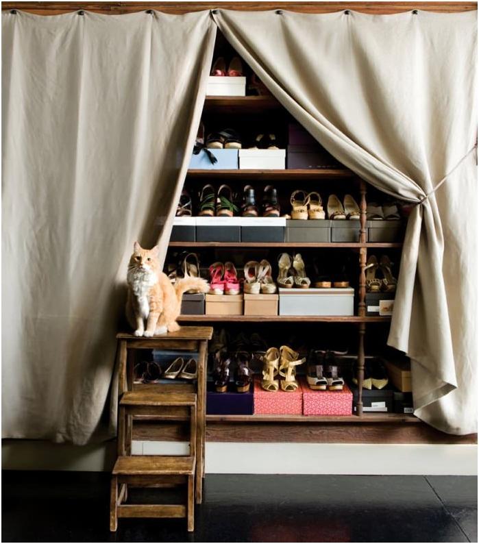 Как да съхранявате обувки: идеи, снимки