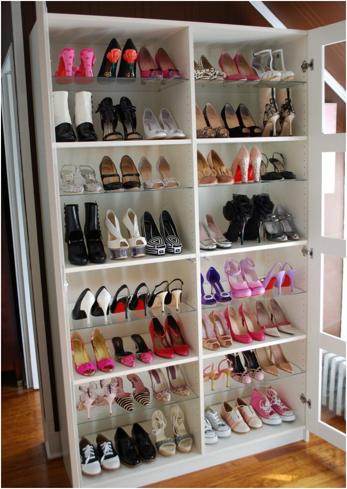cupboard for storage of shoes