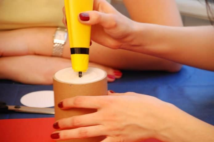 how to make pencil holders with their own hands