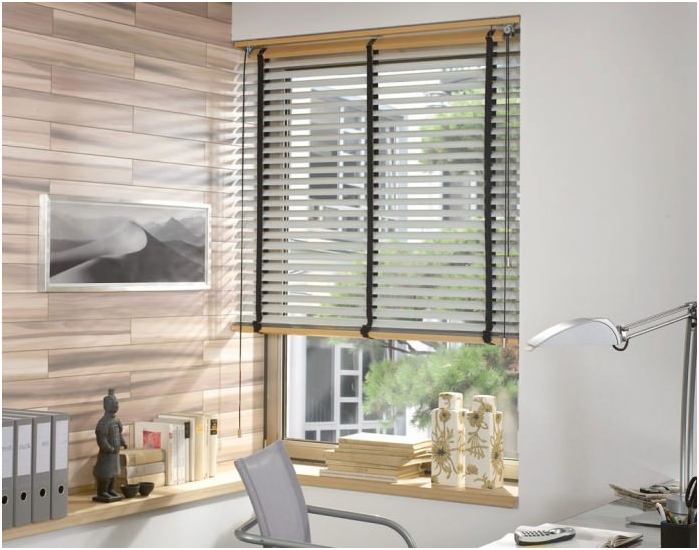 types of blinds on the material: alluminum