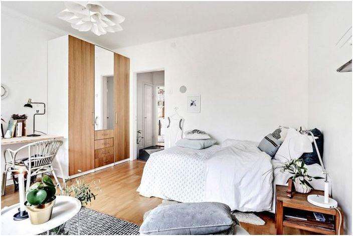 Когато размерът няма значение: 35 квадратни метра уютен дизайн
