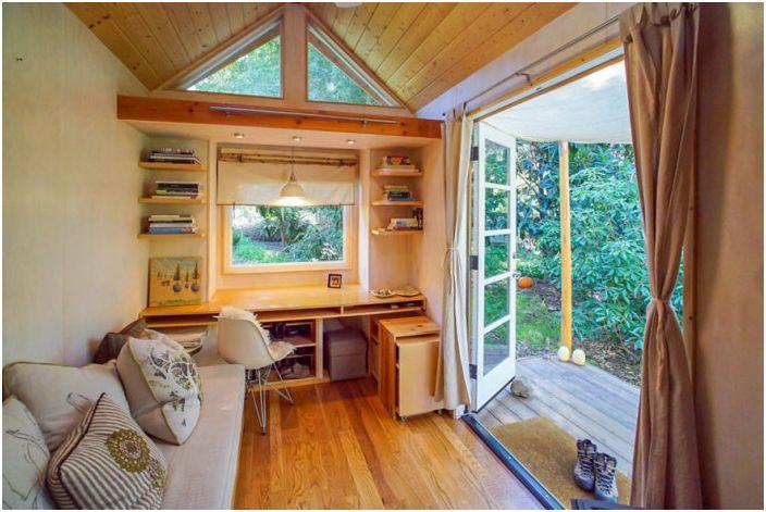 Компактни къщи с площ по-малка от кабините