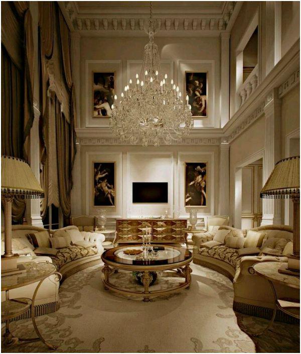 Красиво не живеят забрани: 17 луксозен интериор, който можете да се насладите на безкрайното