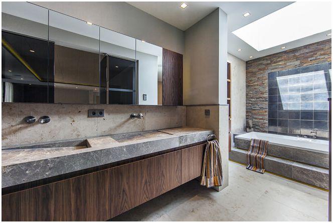 Красив дизайн на бани Centric Design Group