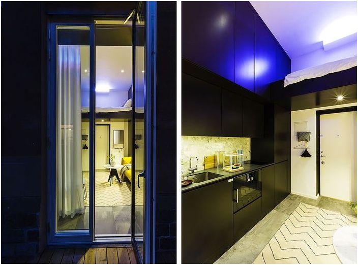 Tiny апартамент - интериор, който разгражда steriotipy на malogabaritki