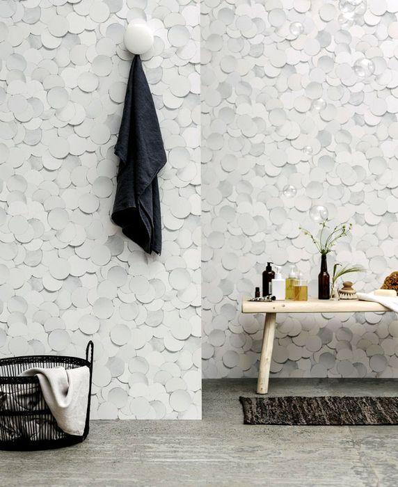 Трудни материали за стени, които не се срамуват да украсят