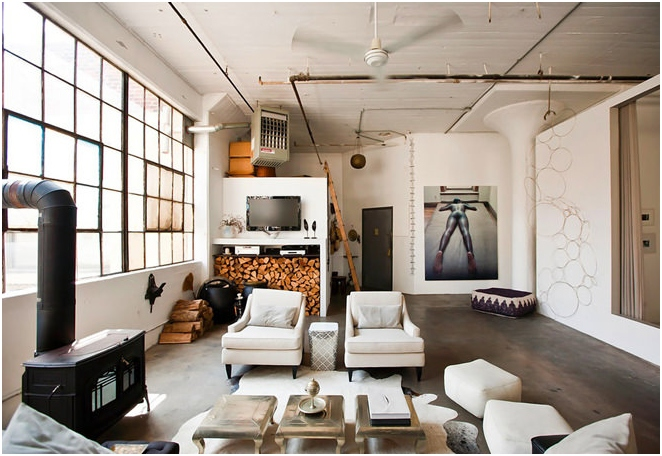 Designed in the style loft