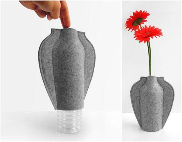 Как сделать вазу своими руками легко 34