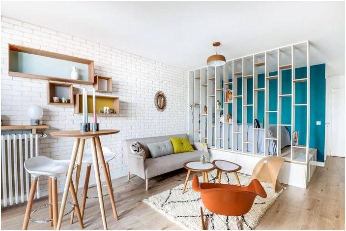 Interior small apartments