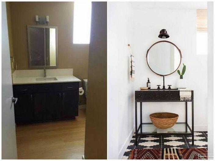"""Малки бани, които са променили до неузнаваемост: 5-ярките примери за """"преди"""" и """"след"""""""