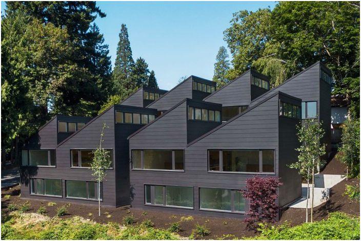 Не е за любознателните: къщата, в която наемателите не го правят cmogut разгледа прозорци на другите