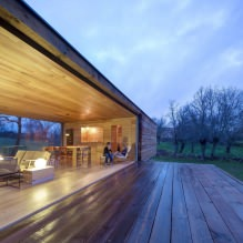 A small modern house with a flat roof on ch + qs arquitectos-2
